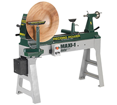 Record Power MAXI-1 Lathe