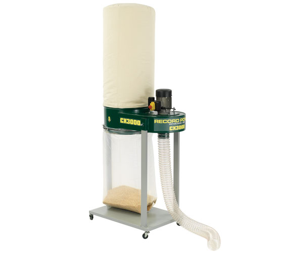 CX3000 Heavy Duty Dust and Chip Extractor - HVLP* USE CODE 38100 **