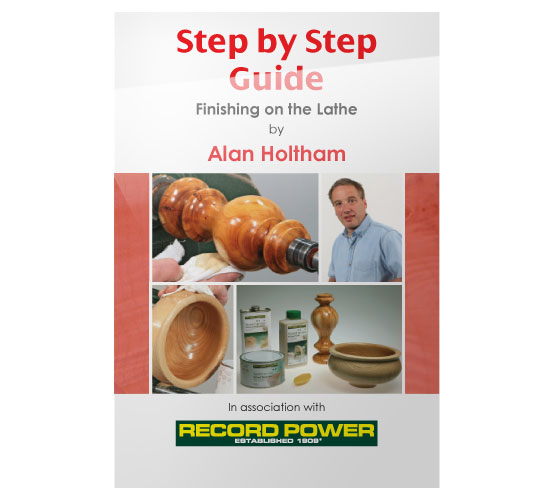 RPDVD05 Step by Step DVD Guide to Finishing on the Lathe with Alan Holtham