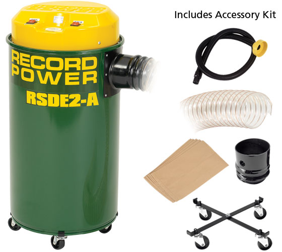RSDE/2A Fine Filter 50 Litre Extractor with Auto Switching