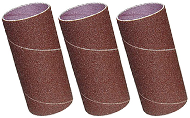 73009 3 Pack Sanding Sleeves, 60,80,120 Grit, 76mm x 230mm