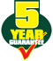 Record Power 5 Year Guarantee